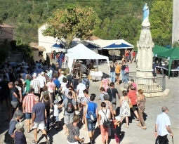 DIMANCHE 16 SEPTEMBRE DU FESTIVAL DES MÉTIERS D'ART A BOUSSAGUES