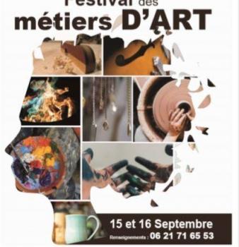 PROGRAMME DU 1er FESTIVAL DES METIERS D'ART